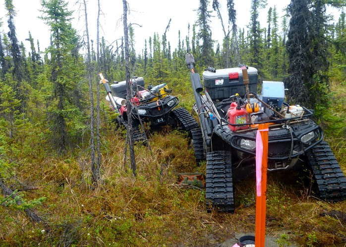 Tracked ATVs Get Through The Tundra - To The Monument